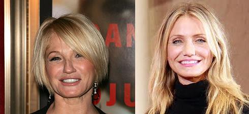 エレン・バーキンとキャメロン・ディアスはそっくり?